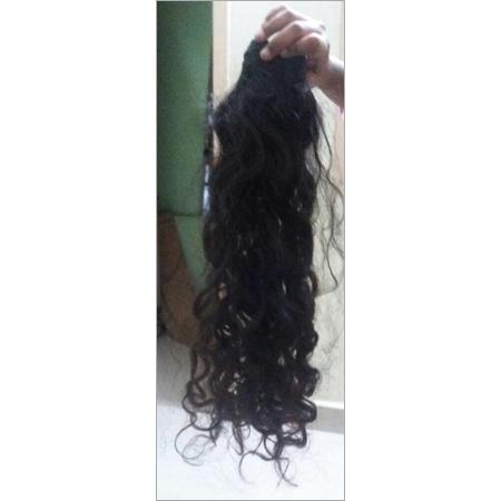 Ladies Curly Black Extension