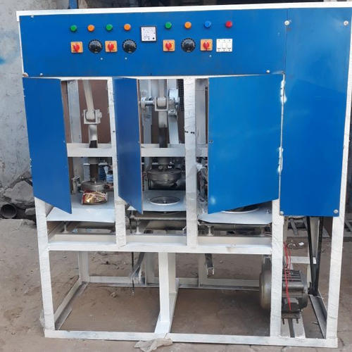 Triple Die Paper Plate Making Machine