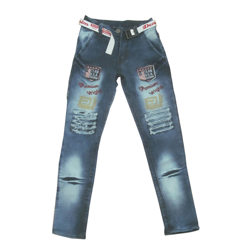 Kids Shaded Jeans