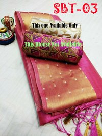 Embroidery Silk Saree