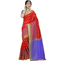 Cotton Silk Saree with Jaquard work