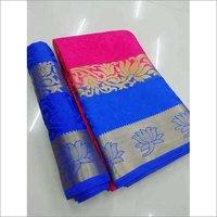Fancy Ladies wear Silk Saree