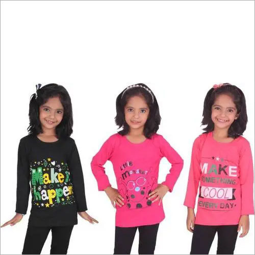Girls Full Sleeves Top