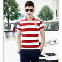 Mens Designer Striped T-Shirt