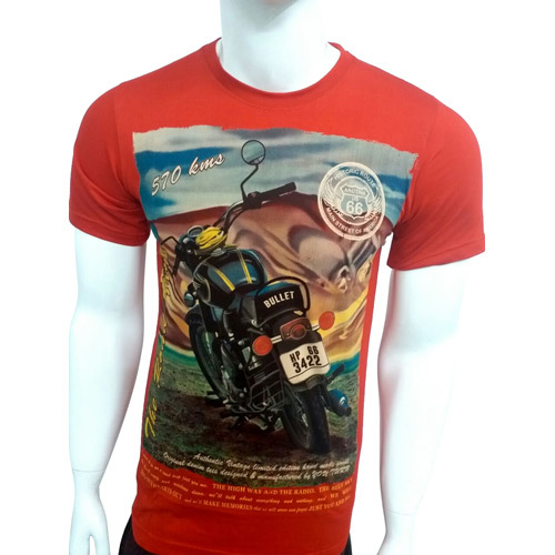Mens Designer Half Sleeves T-Shirt