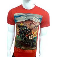 Mens Designer Half Sleeves T-Shirt