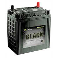 80ah Black Amaron Car Battery