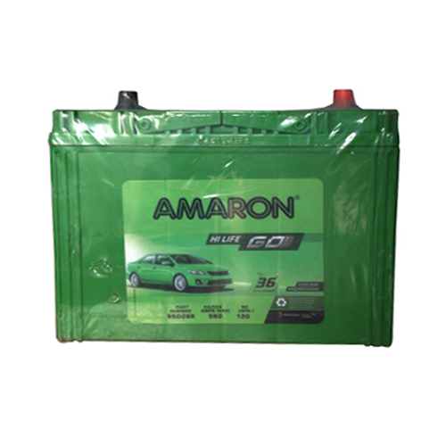 72Ah Amaron Battery