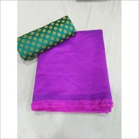 Sana Silk Saree With Jacquard Blouse Piece