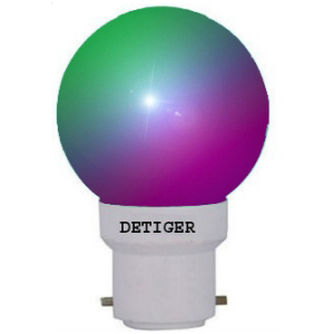 Colored LED Light Bulb