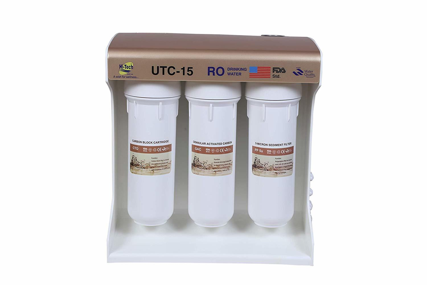 RO 15 LPH Under sink ( automatic with pressure tank))