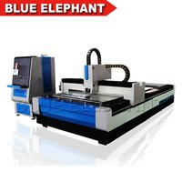Metal Fiber Laser Cnc Cutting Machine For Steel, Aluminum & Other Alloy Metals