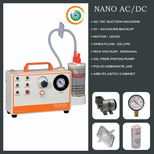 AC DC Suction Machine