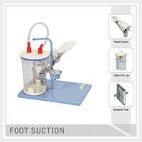 Foot Operated Suction Unit