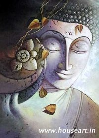 Lord Gautam Buddha Paintings