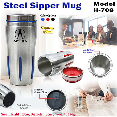 Steel Sipper Mug