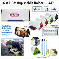 6 in 1 Desktop Mobile Holder