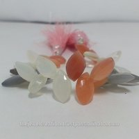 Natural Multi Moonstone Marquise Briolette Beads Gemstone Bead