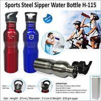 Sports Steel Sipper Water Bottle