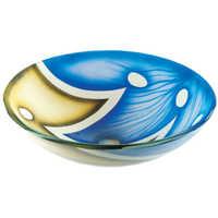Modern Glass Bowl Wash Basin