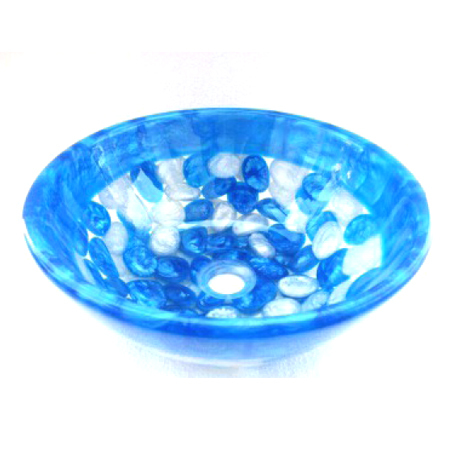 Glass Resin Wash Bowl