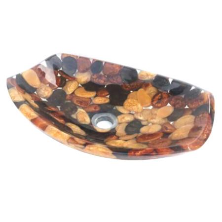 Glass Resin Wash Bowl