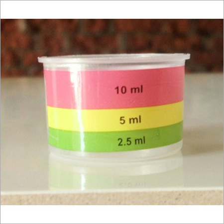 Plastic Measuring Cap