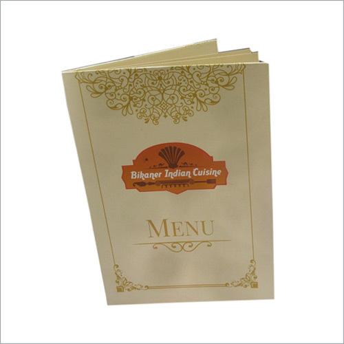 Menu Card Printing Services
