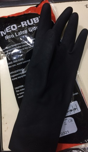 Neoprene Rubber Hand Gloves