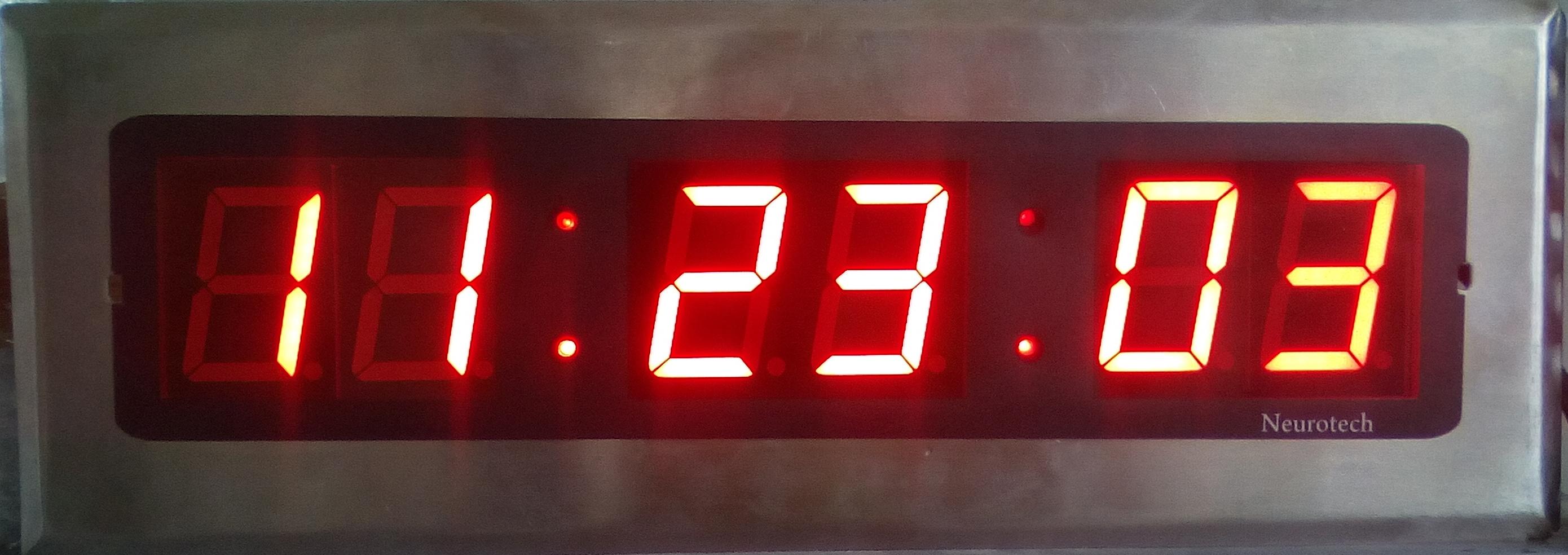 Synchronous Master Slave Clock ( Server & GPS Based )