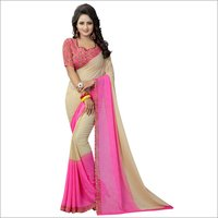 India Georgette Saree