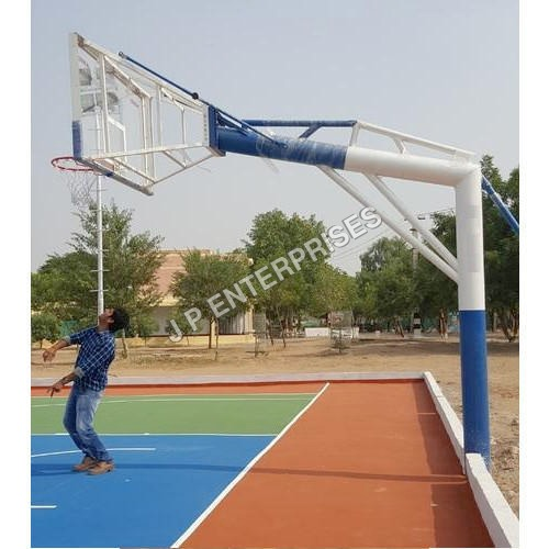 Round Pipe Umbrella System Basketball Pole
