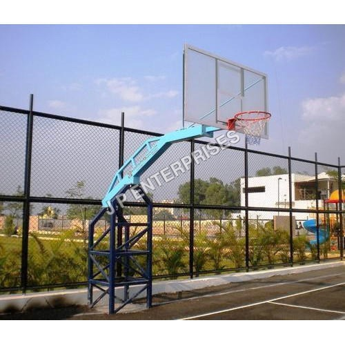Single Arm Basketball Pole