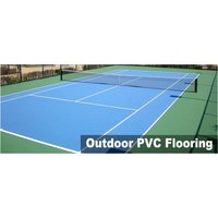 Outdoor PVC Sports Court Flooring Services