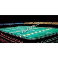 Indoor Badminton PVC Vinyl Flooring Service