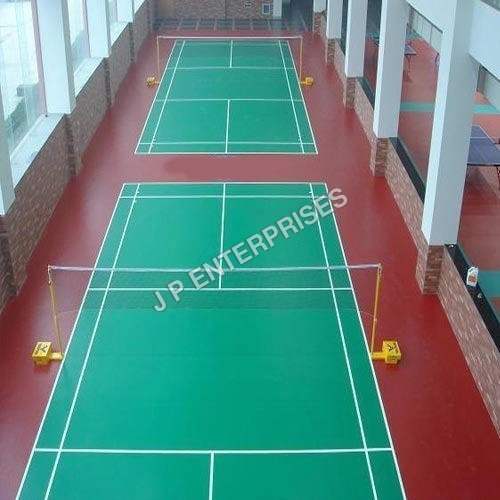 Synthetic Badminton Court Flooring