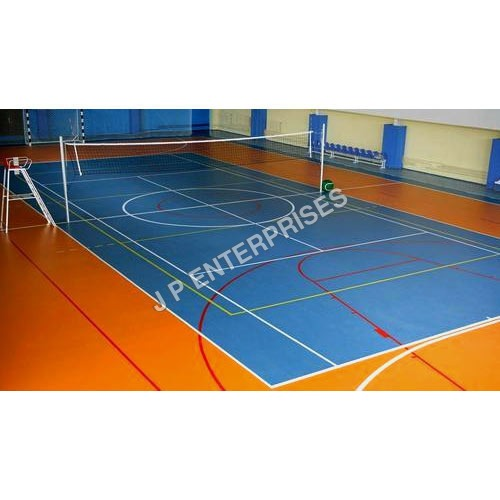 Volleyball Court Flooring Services