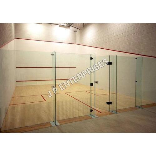 Squash Court Glass Back Wall