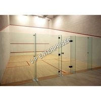 Squash Court Glass Back Wall