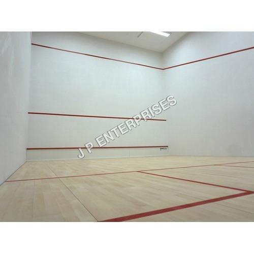 Squash Court Hard Plaster Flooring