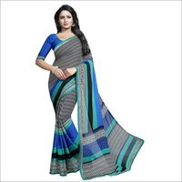 Georgette Fancy Saree Lace
