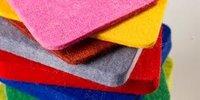 Colored felt