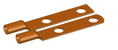 Long Plam 2 hole Copper Lugs