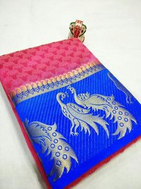 India Kanjivaram Silk Saree