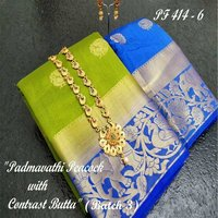 Fancy Embroided Kanjivaram Silk Saree