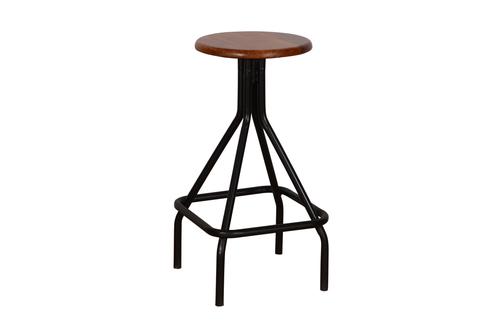 iron bar stool