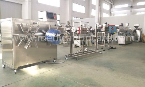 Medical PVC PU infusion IV tube extruder machine
