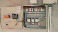 Electric motor control panel