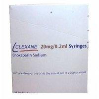 CLEXANE20mg/0.2mL ( Enoxaparin )