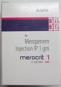 MEROCRIT - 1gm ( Meropenem Inj.)